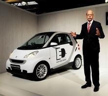 La Smart Fortwo ED : électrique !