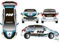 Peugeot 207 RC «908 Style» pour Le Mans : c'est elle