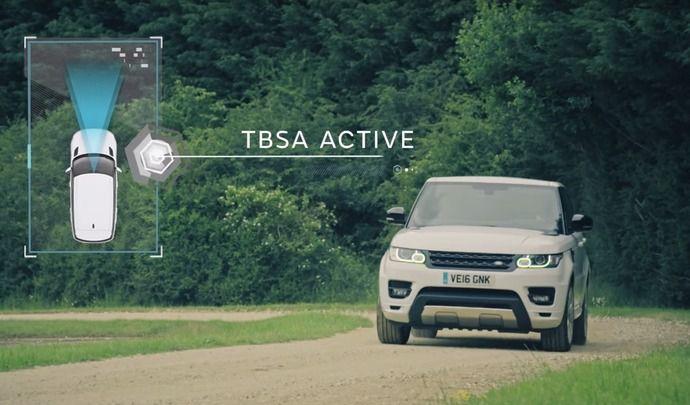 Le mode autonome Land Rover peut sortir des sentiers battus