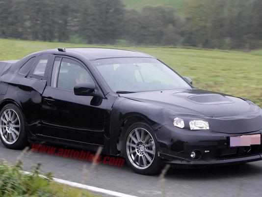 Genève 2011 : le coupé Subaru y sera sous la forme d'un concept-car