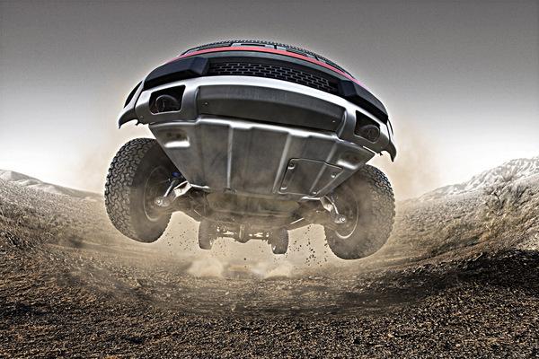 SEMA 2009 : 411 chevaux pour le Ford F-150 SVT Raptor