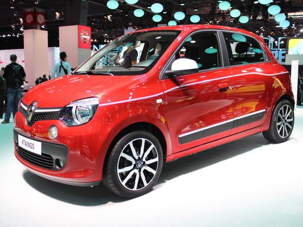 Renault Twingo 3 : sortie nationale - Vidéo en direct du salon de Paris 2014