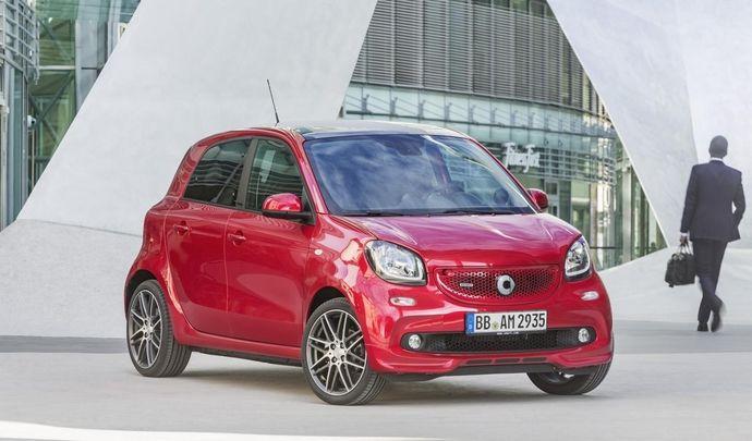 Smart Forfour Brabus : à partir de 20250€