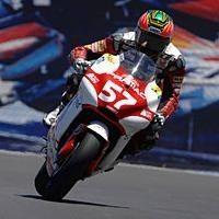 Moto GP 2008: Ducati: Chaz Davies a convaincu