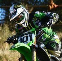Motocross : Ben Townley de nouveau sur sa 450 Kawasaki