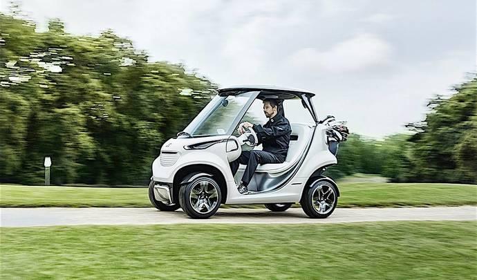 Mercedes dévoile une voiturette de golf haut de gamme