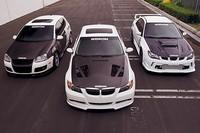 Golf 5 GTi, BMW 330i et Impreza Seibon : Le trio infernal !!