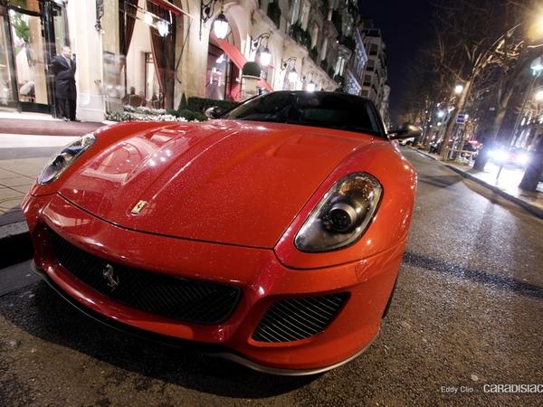 Photos du jour : Ferrari 599 GTO