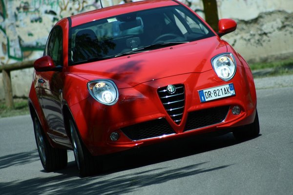 Alfa MiTo : encore des photos live