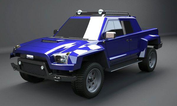 Cimex Conin Concept : un Lamborghini LM002 en moins glamour