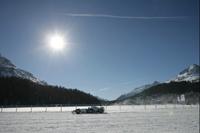 Nick Heidfeld on ice