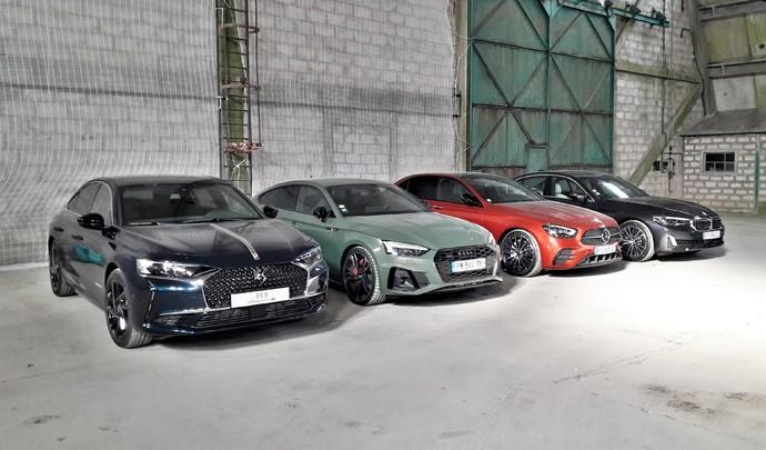 Les 4 routières du salon de l'auto Caradisiac - Quel modèle choisir ?