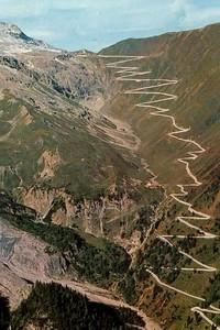 road book  du stelvio italie du nord