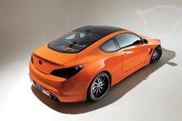 SEMA Show 2009 : Une Hyundai Genesis aux accents de Porsche GT3 RS