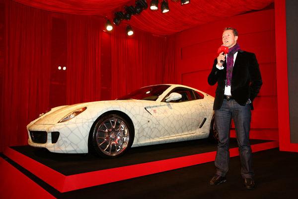 1,2 millions d'euros pour la Ferrari 599 GTB Fiorano China vendue aux enchères