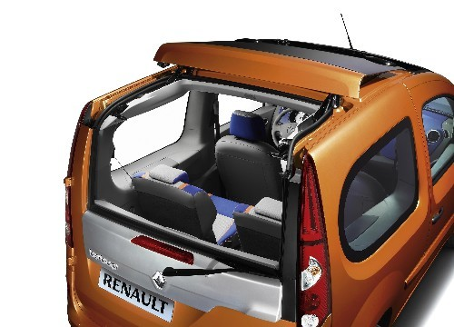 renault kangoo be bop un toit tonnant. Black Bedroom Furniture Sets. Home Design Ideas