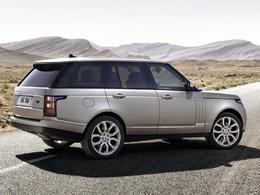 Le Range Rover 4 désigné 4X4 de l'année 2013 !