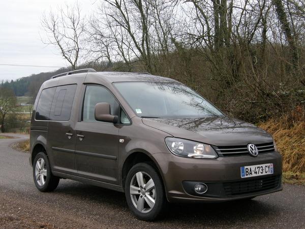 Essai - Volkswagen Caddy 1.6 CR TDi 102 BlueMotion : enfin dans le rang