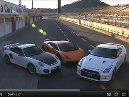 Best Motoring : Nissan GT-R 2012 vs Lamborghini Gallardo Superleggera vs Porsche 911 GT2 RS