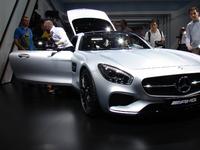 Mercedes AMG GT: la sportive du salon - Vidéo en direct du Mondial de Paris 2014