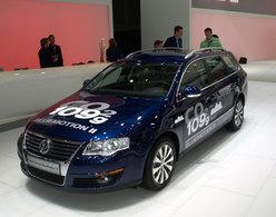 Volkswagen Passat BlueMotion 2 en direct du Mondial