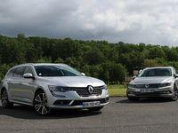 Comparatif vidéo - Renault Talisman Estate vs Volkswagen Passat SW : une place en finale