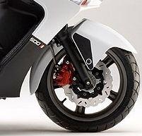 Nouveauté scooter 2008 : Kymco Xciting 500i R