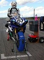 Championnat de France Superbike : Magali Langlois en proie à des doutes à Ledenon
