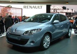 Renault Mégane en direct du Mondial