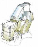 Un véhicule électrique à 3 roues : le Tri'Ode de Véléance