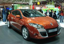 Renault Mégane Coupé en direct du Mondial