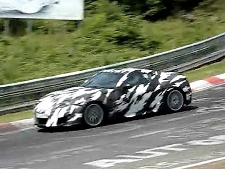 Vidéo : la Honda NSX sur le Nürburgring.