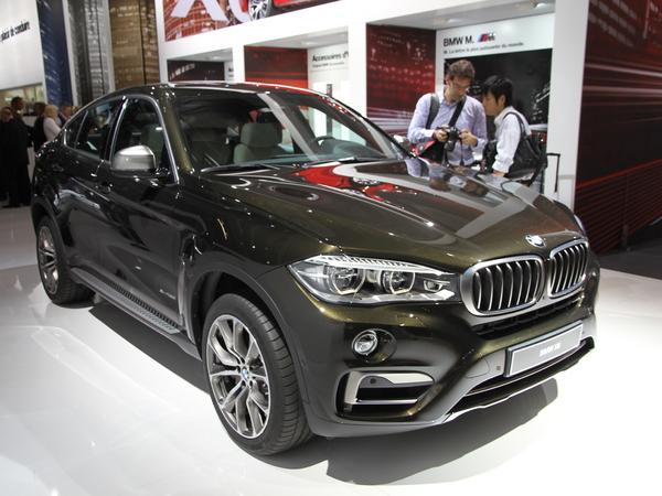 Nouveau BMW X6, frugal mastodonte -  Vidéo en direct du salon de Paris 2014