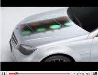 Vidéo Pub : Mercedes C63 AMG, fille du DTM