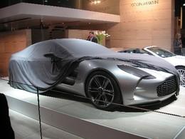 Aston Martin One-77: Là sans y être...