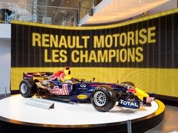 L'Atelier Renault des Champs Elysées à l'heure F1