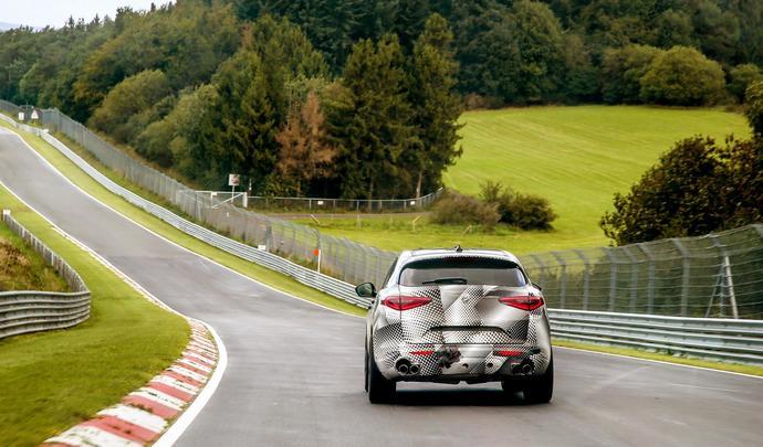 L'Alfa Romeo Stelvio bat le record des SUV sur le Nürburgring