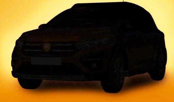 Dacia montre desmorceaux de la nouvelle Sandero