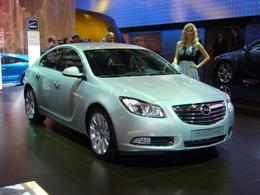 Opel Insignia en direct du Mondial