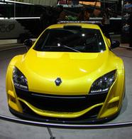Renault Mégane Trophy en direct du Mondial: la Batmobile du losange