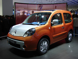 Renault Kangoo Be Bop en direct du Mondial
