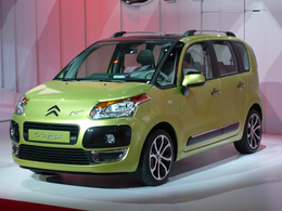 La Citroën C3 Picasso en première mondiale
