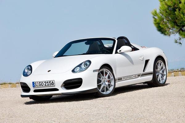 Porsche Boxster Spyder : exclusif