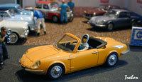 Miniature : 1/43ème - CG-SIMCA cabriolet 1000