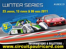 Première manche des Winter Series ce week-end au Paul Ricard HTTT