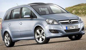 Opel: risque d'incendie sur l'ancien Zafira