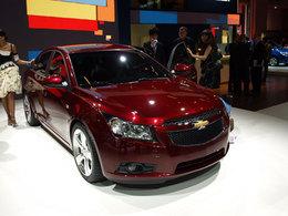 Chevrolet Cruze en direct du Mondial