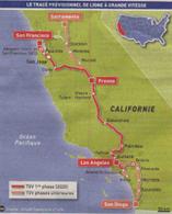 Californie : un TGV reliera les grandes villes de la côte Ouest
