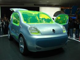 Renault Z.E concept en direct du salon