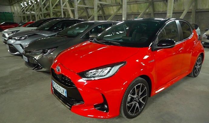 Salon de l'auto Caradisiac - Le stand Toyota: tout hybride (ou presque)